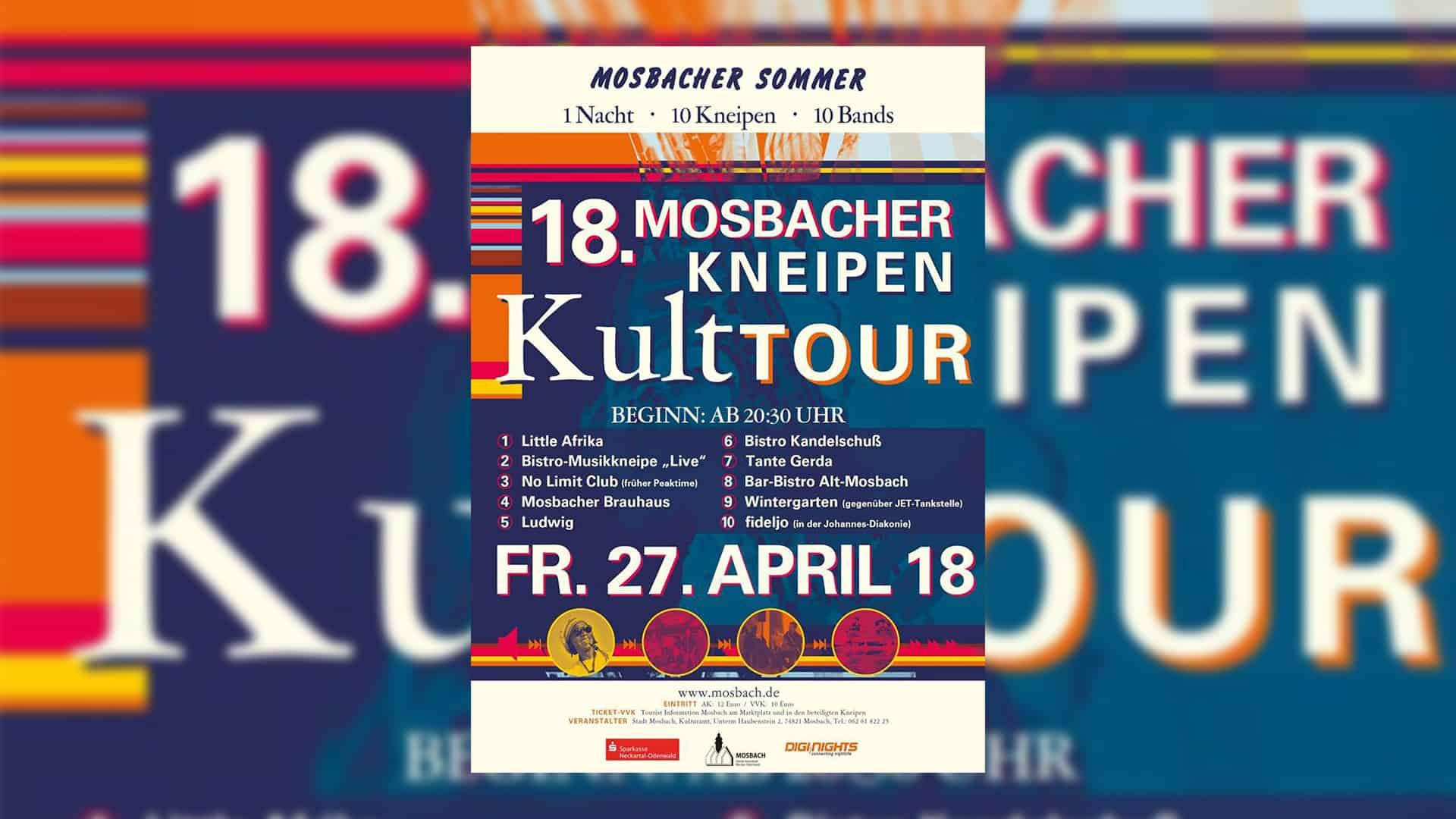 18. Mosbacher Kneipen Kult Tour